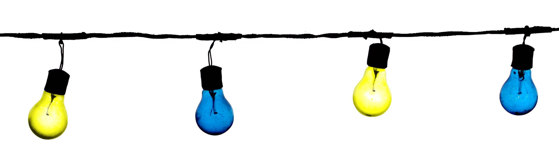 lampadine-blu-gialle-cut-wobinda-produzioni